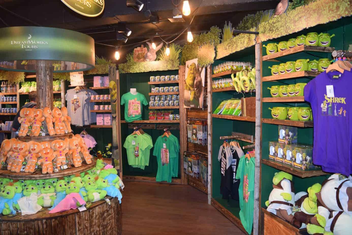 The shop at Shrek's adventure