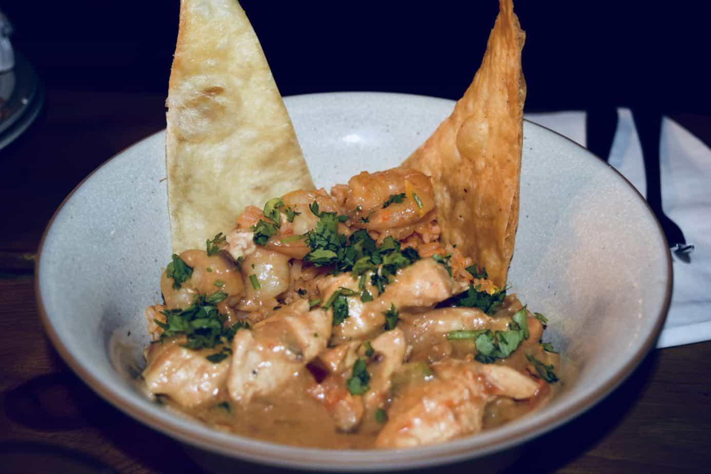 Xim Xim dish served at Bodega