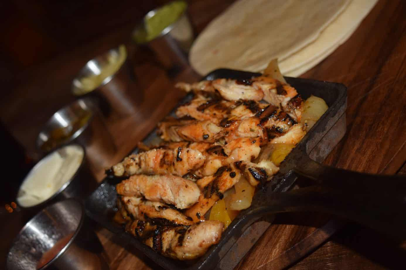 Cajun Fajitas at Smokey Barrels