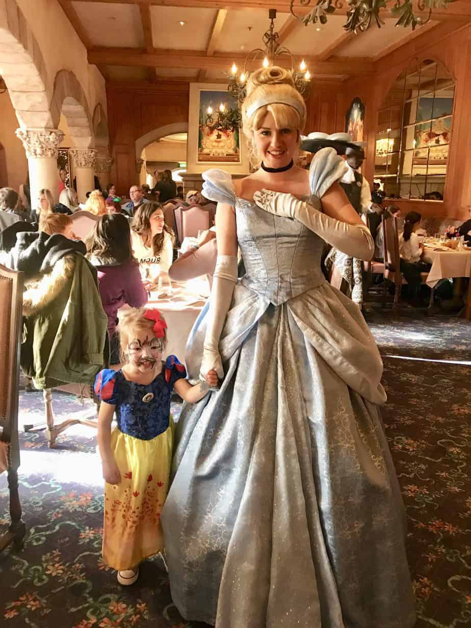 W meeting Cinderella