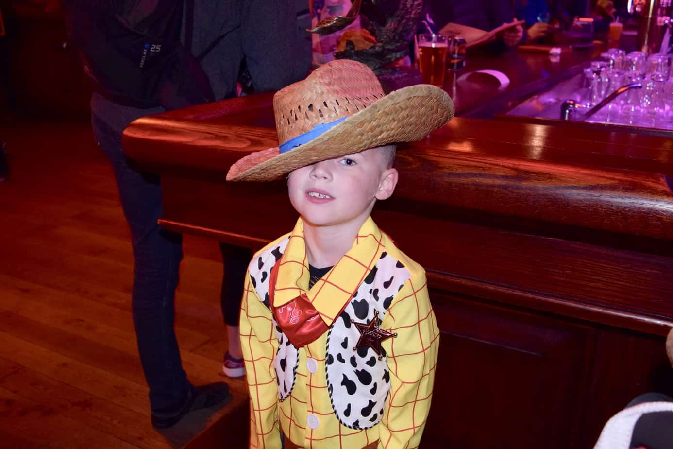 B wearing his Cowboy hat supporting the team Blue at the Buffalo wild west  show 26dd772c91e5