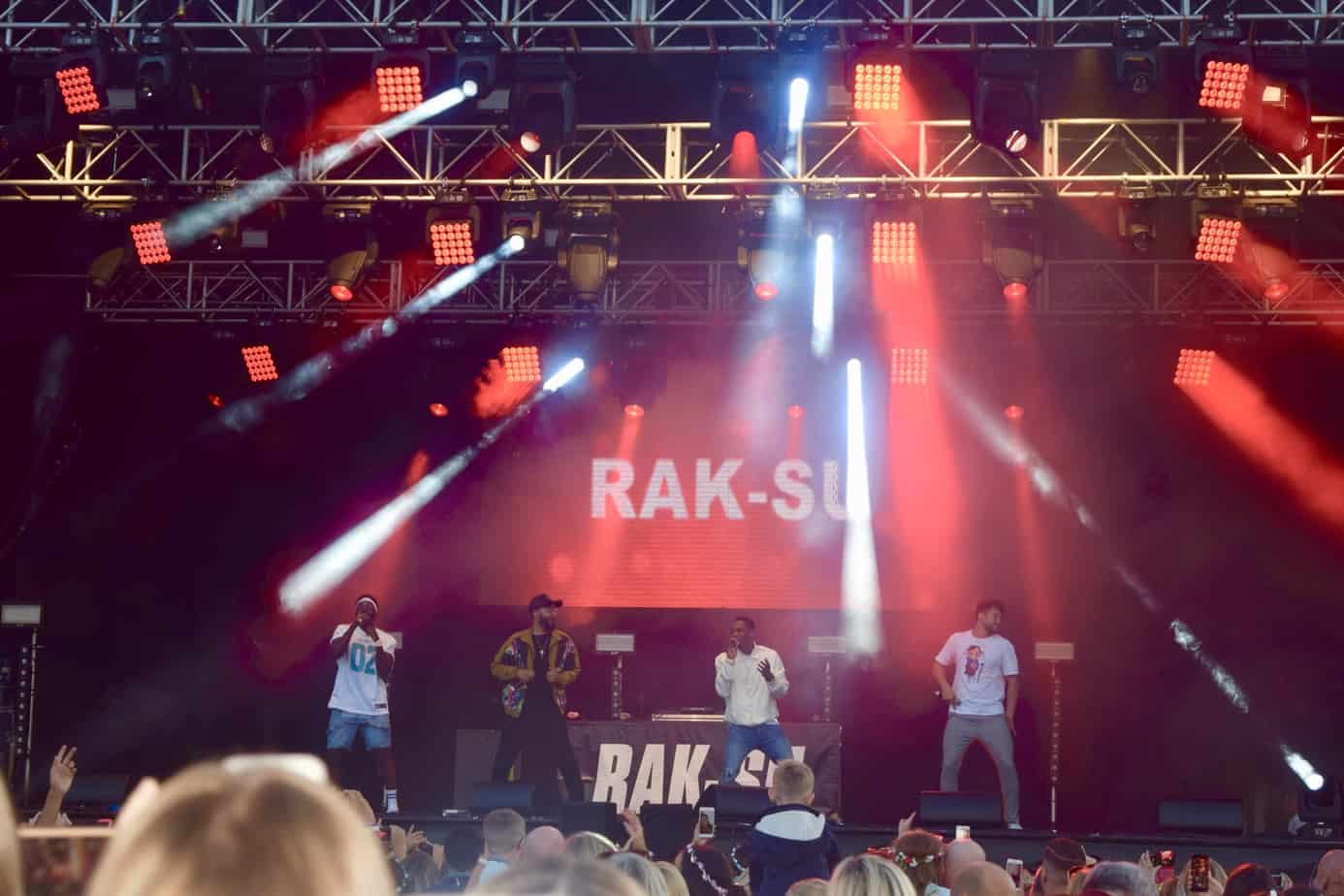 Rak-Su on Stage at Solihull Summer Fest