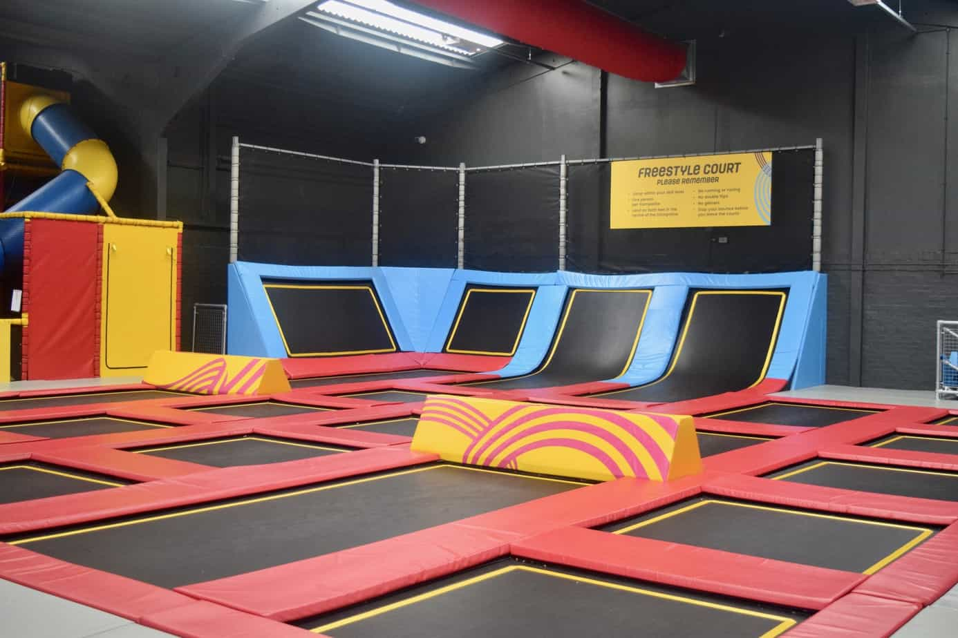 Some of the bounce area at Red Kangaroo