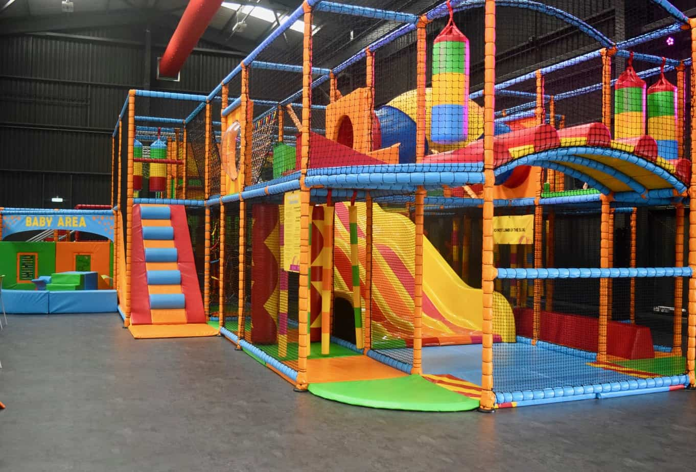 Soft play area at Red Kangaroo Coventry