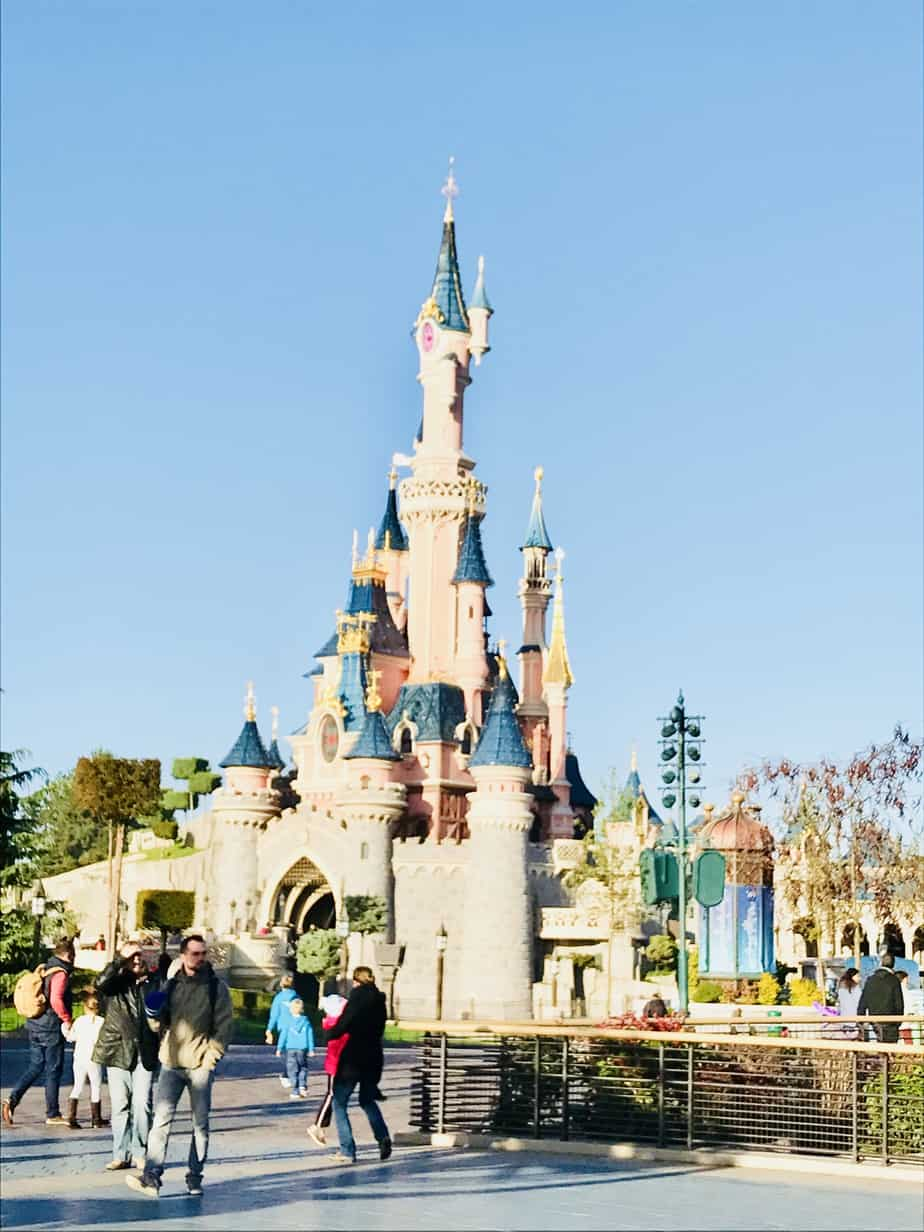 Disneyland paris secrets and the castle