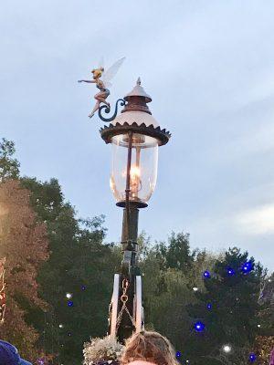 Lamps at Disneyland paris