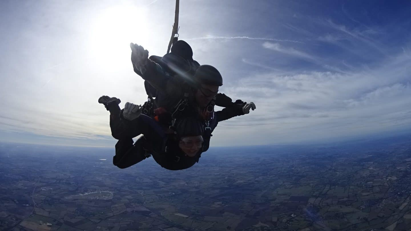Claire skydive