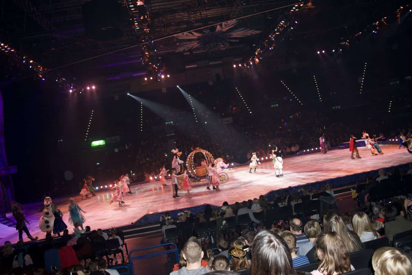 The finale of the show of Disney on ice