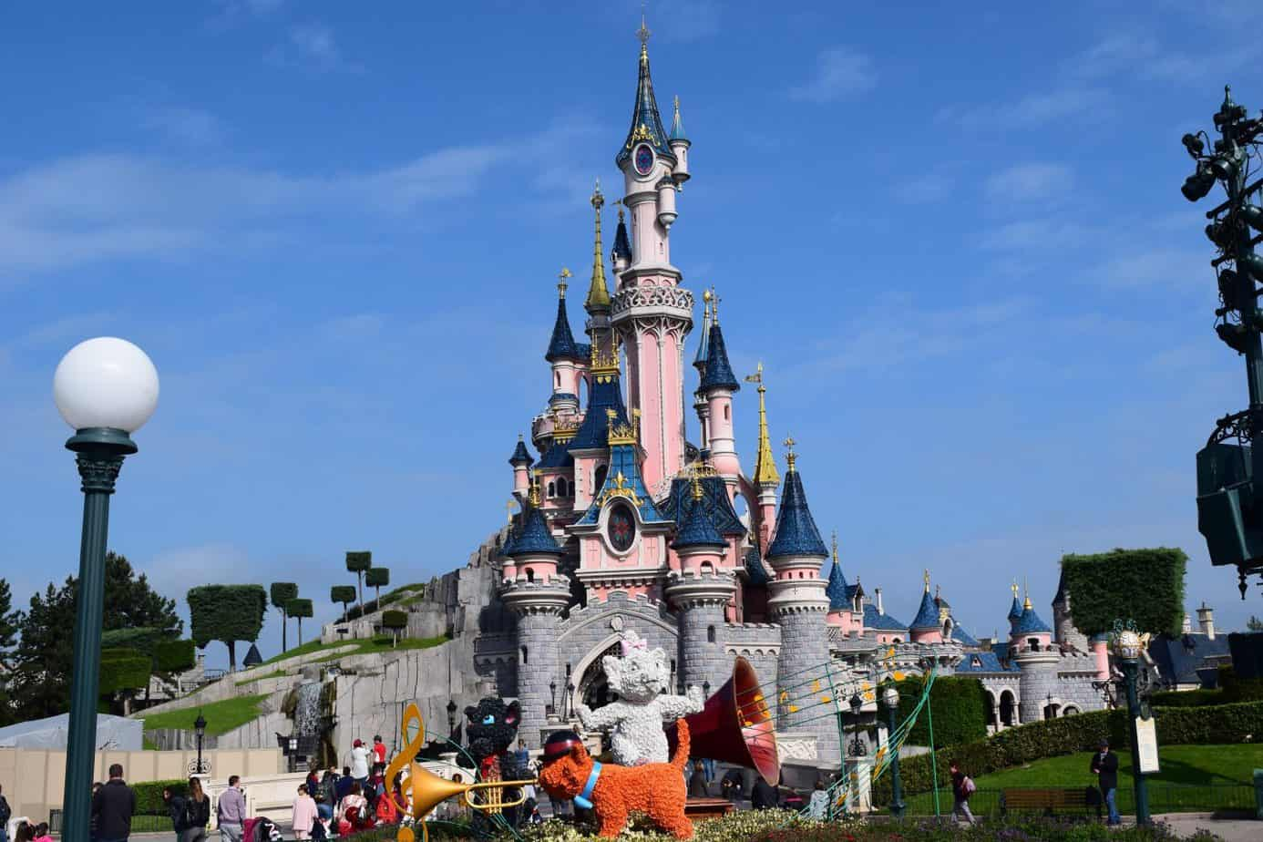 Disneyland Paris castle makes my top places to visit in Europe with children