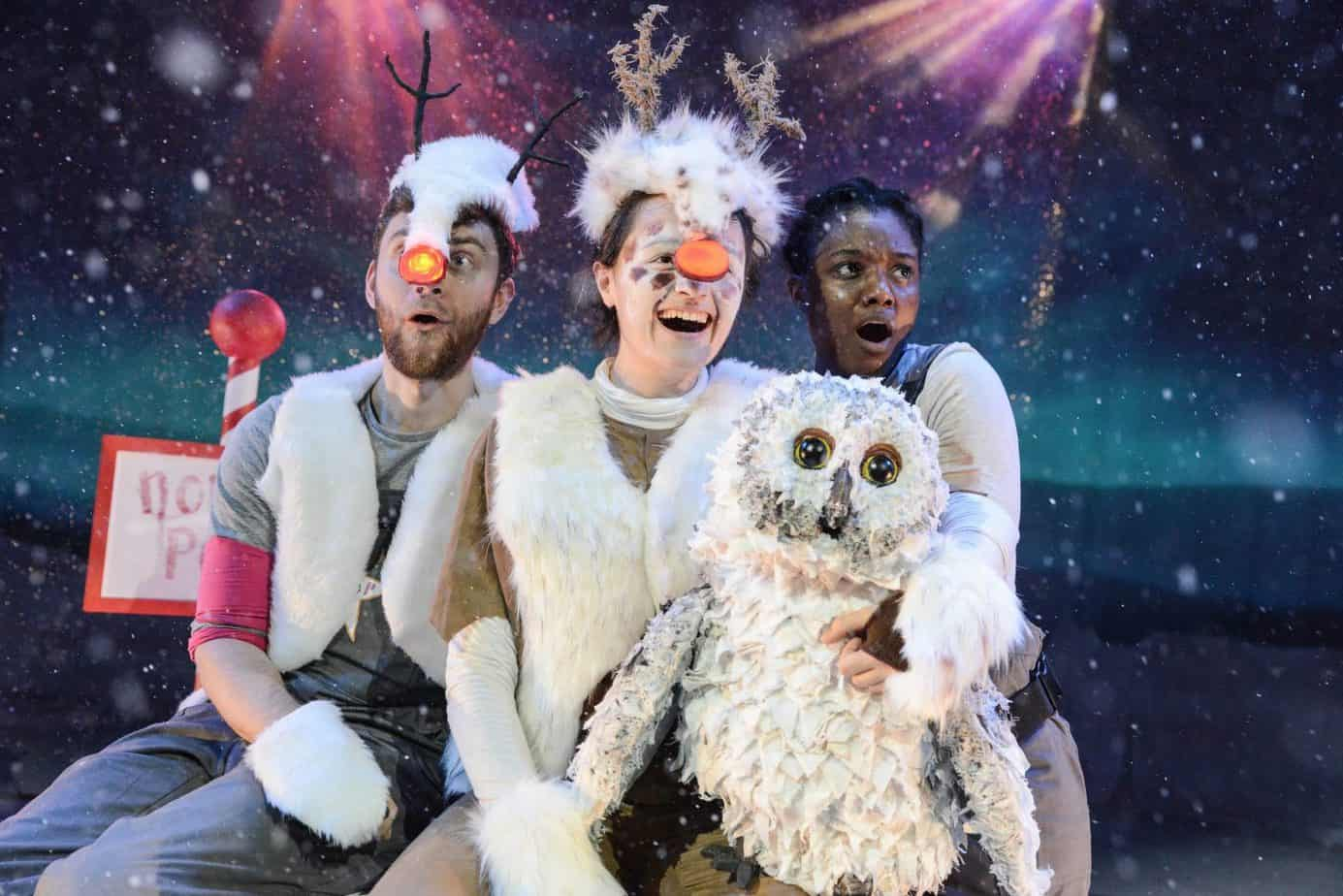 The cast of Rudolf at MAC showing until December 31st 2018