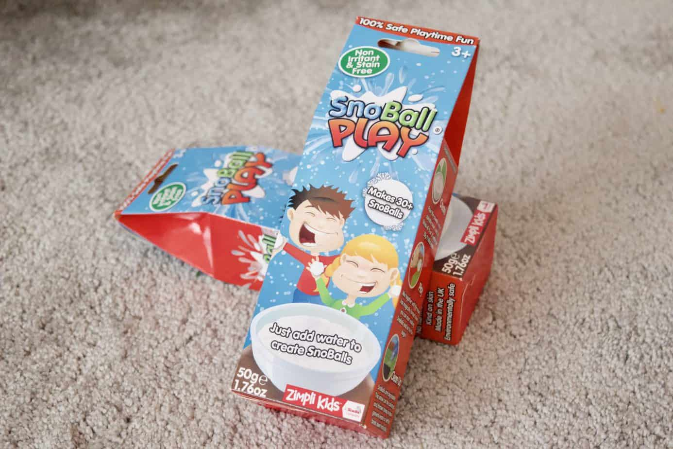 2 packs of Snoball play from Zimpli kids