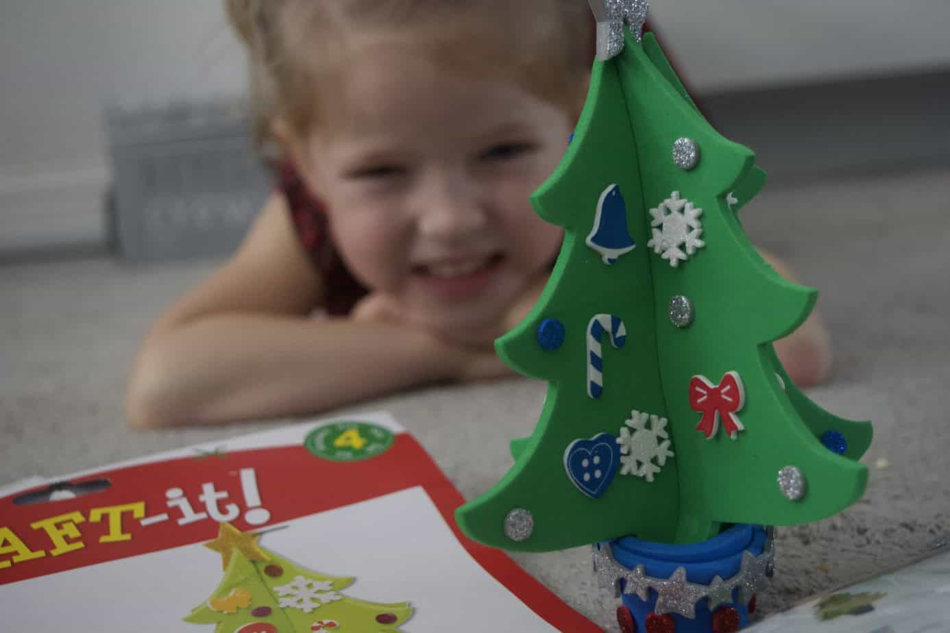 A Christmas Craft Christmas Tree from Baker Ross