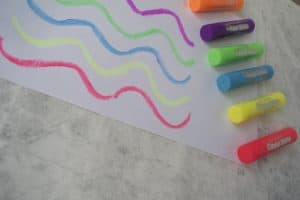 Neon paint sticks but Little Brian is a must for our stationery haul for kids