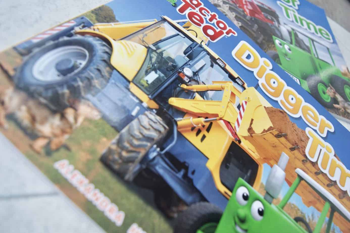Tractor Ted Digger Time book