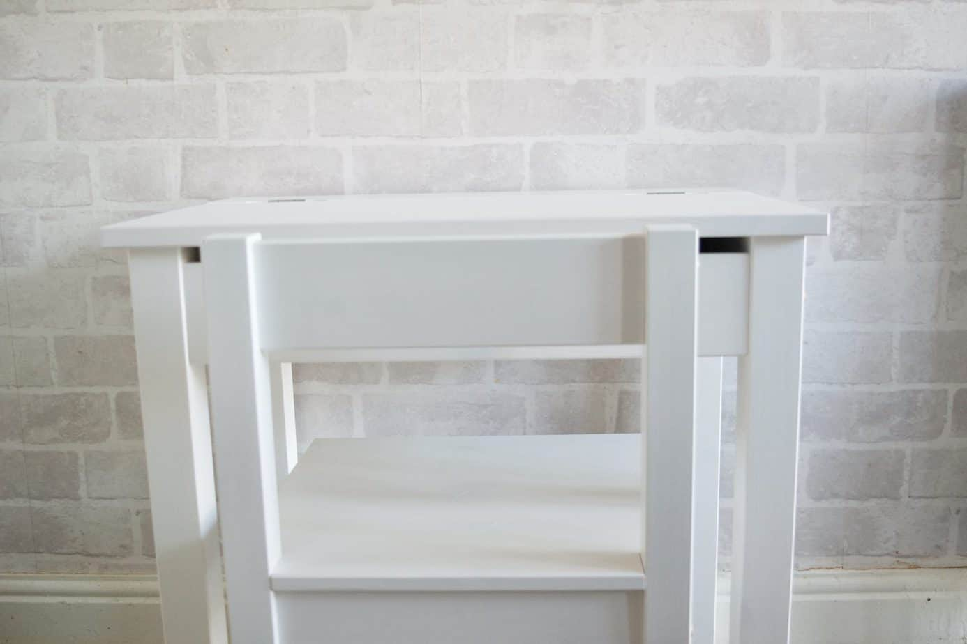 White desk from Argos for a kid