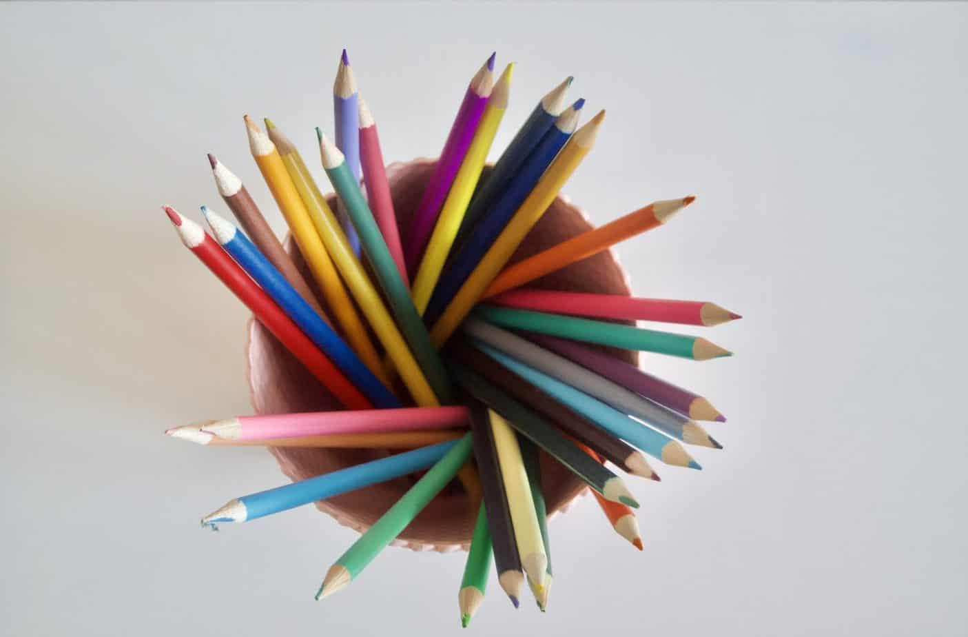 Pack of 30 pencils fare included in my desk essentials for kids