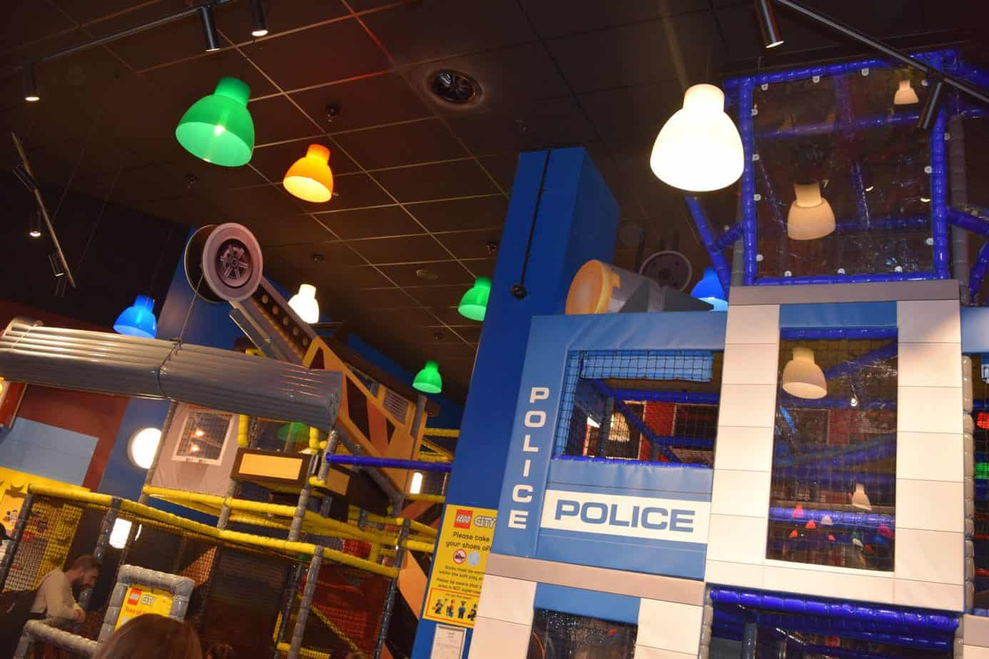 Softplay area within Legoland Discovery Centre