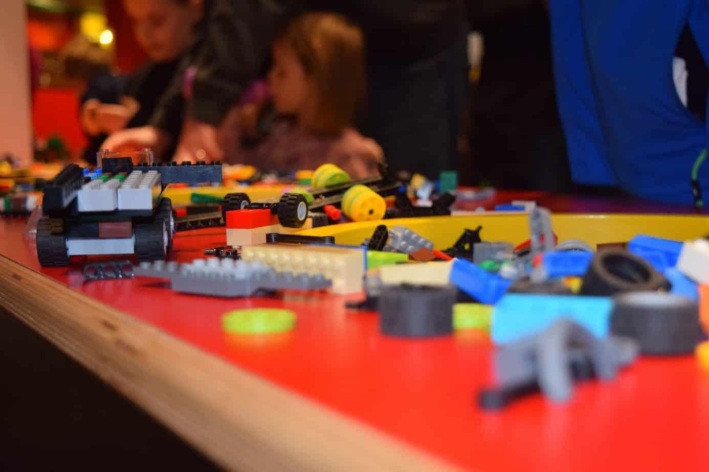Lego closeup