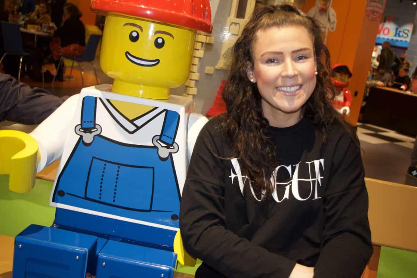 Mr Lego and I!