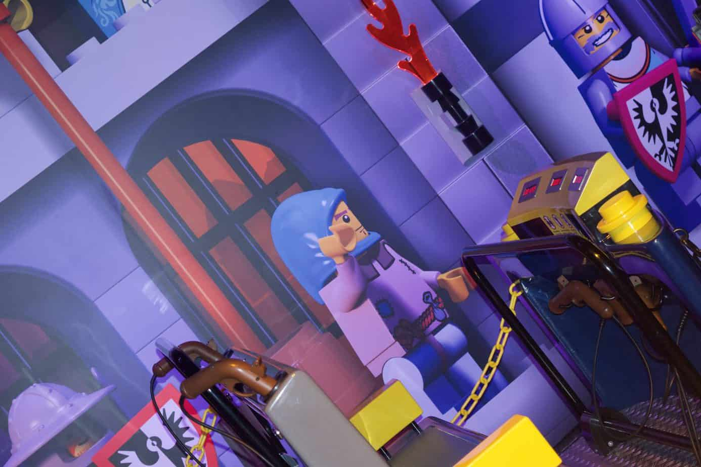 Kingdom Quest ride at Legoland Discovery Centre Birmingham - entry to the ride