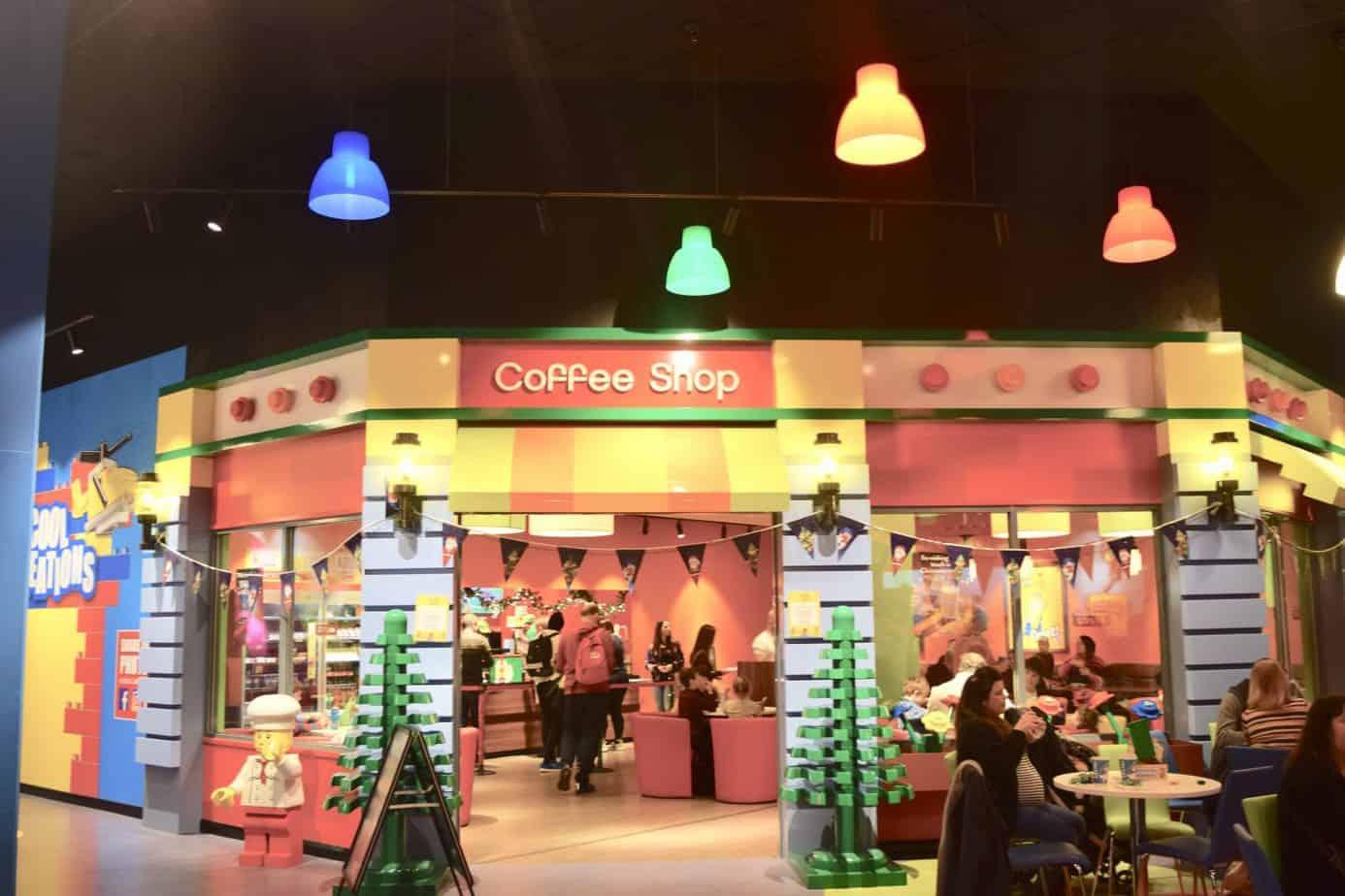 Legoland Discovery Centre's Cafe