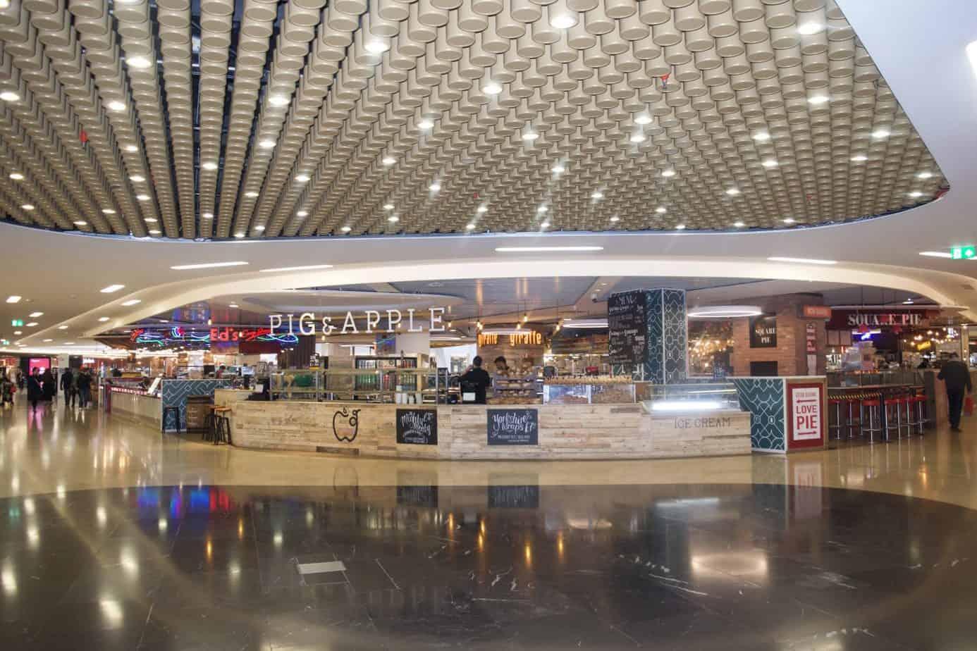 Grand Central Station Birmingham shops and restaurants