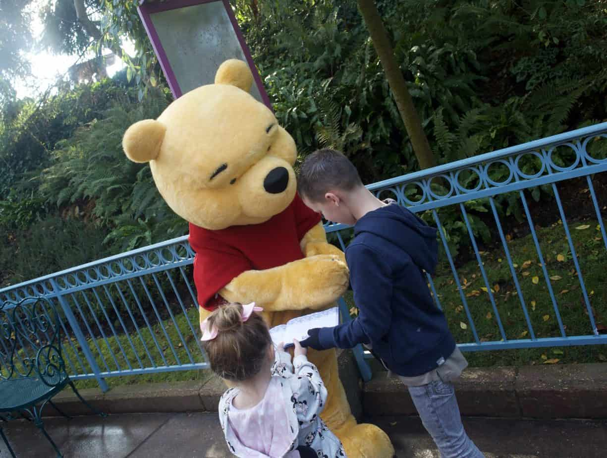 meeting Winnie the Pooh at Disneyland Paris Trip Report