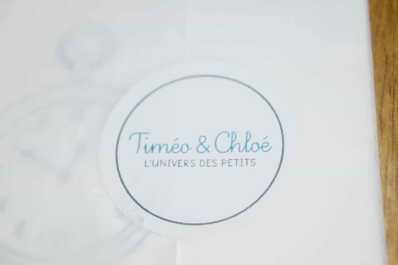 Timeo & Chloe sticker
