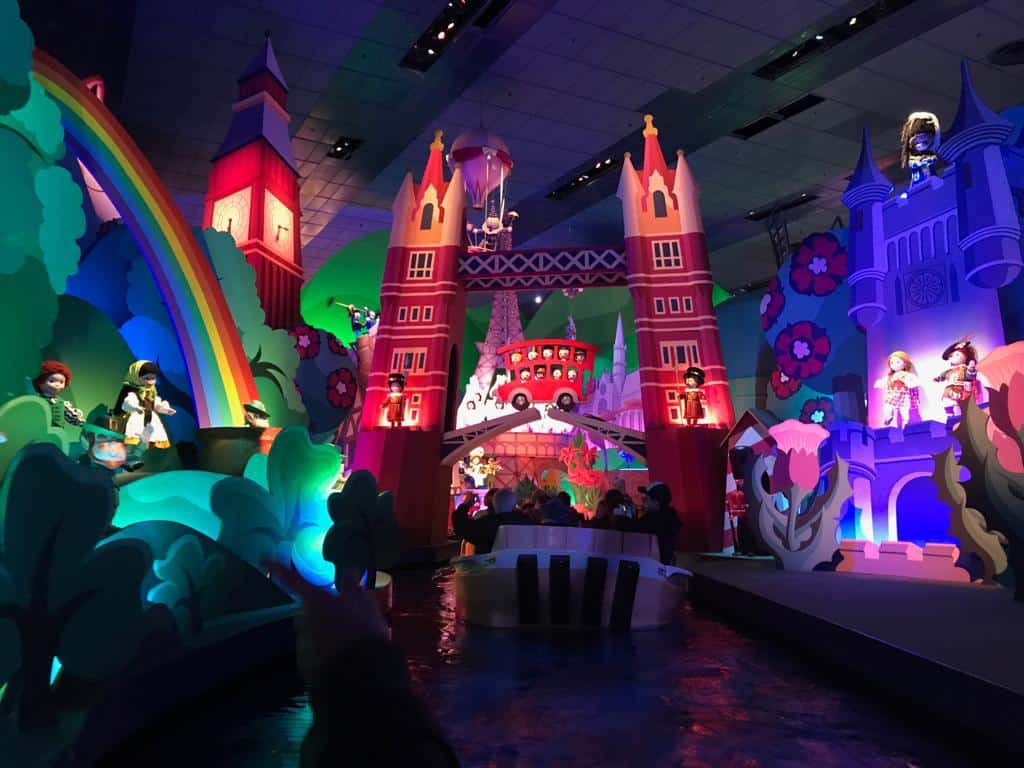 It's a Small World a great ride for Toddlers in Disneyland Paris
