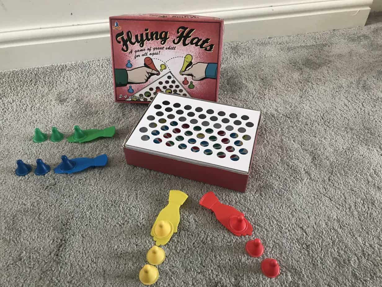 Flying Kites box and counters.