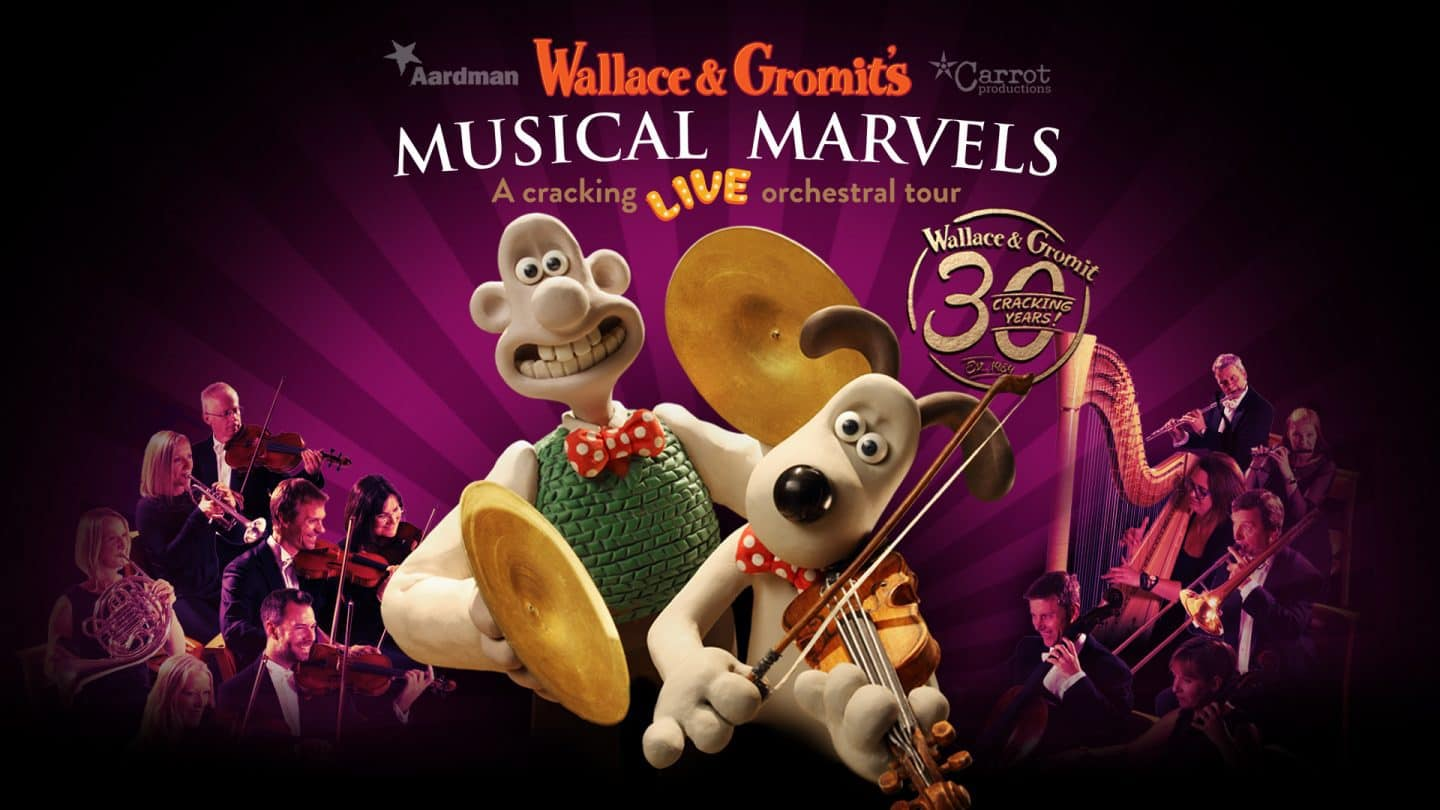 Wallace and Gromit's Musical Marvals poster