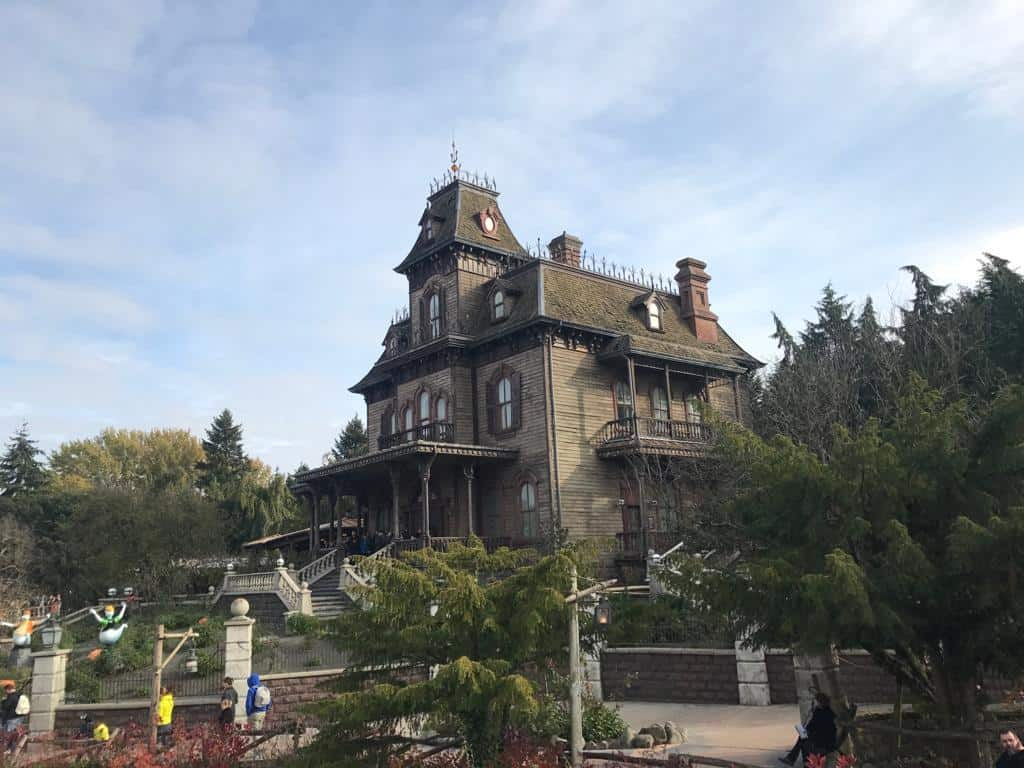 Haunted Mansion at Disneyland Paris