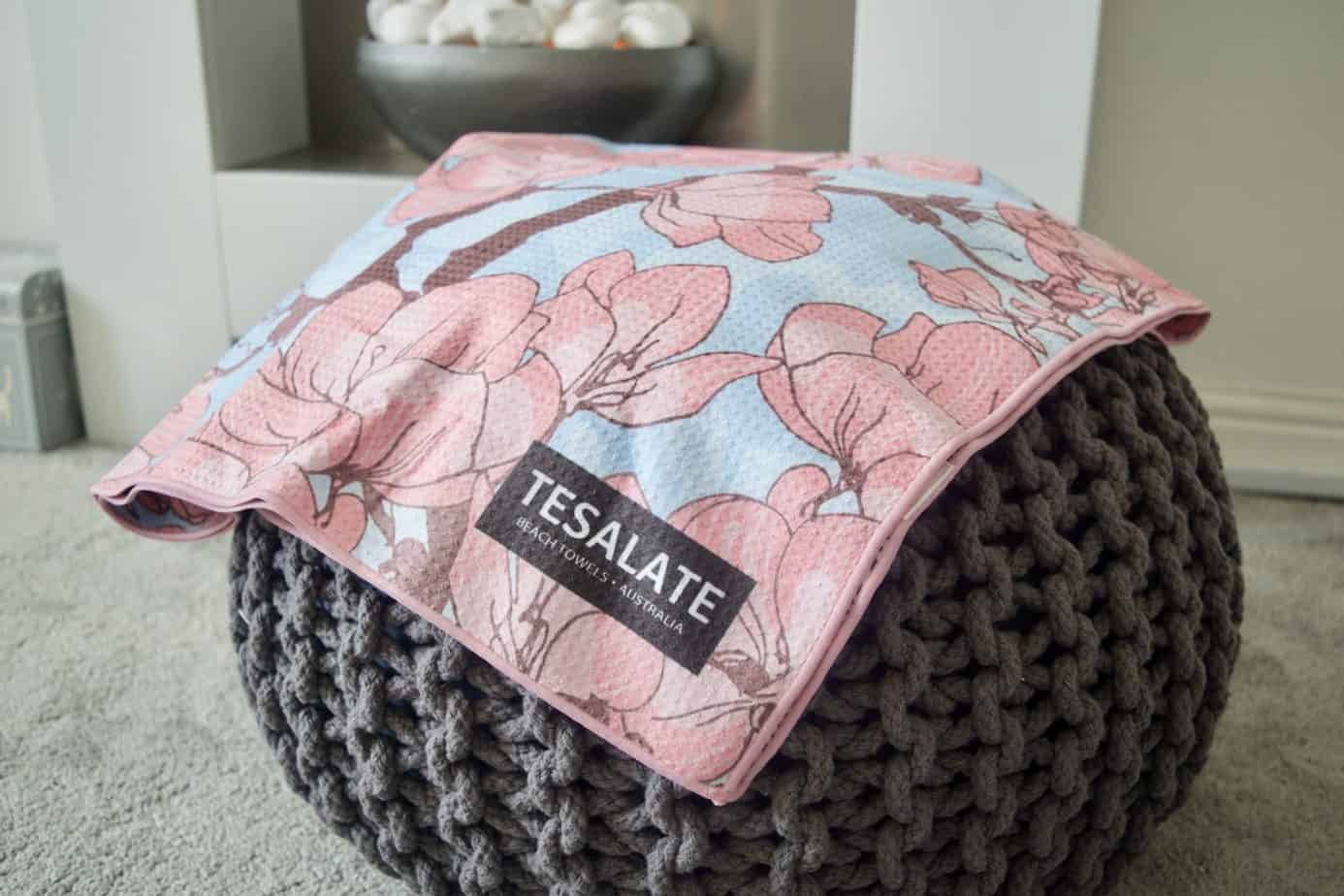 Tesalate Towel - perfect gift for mothers day 2019.