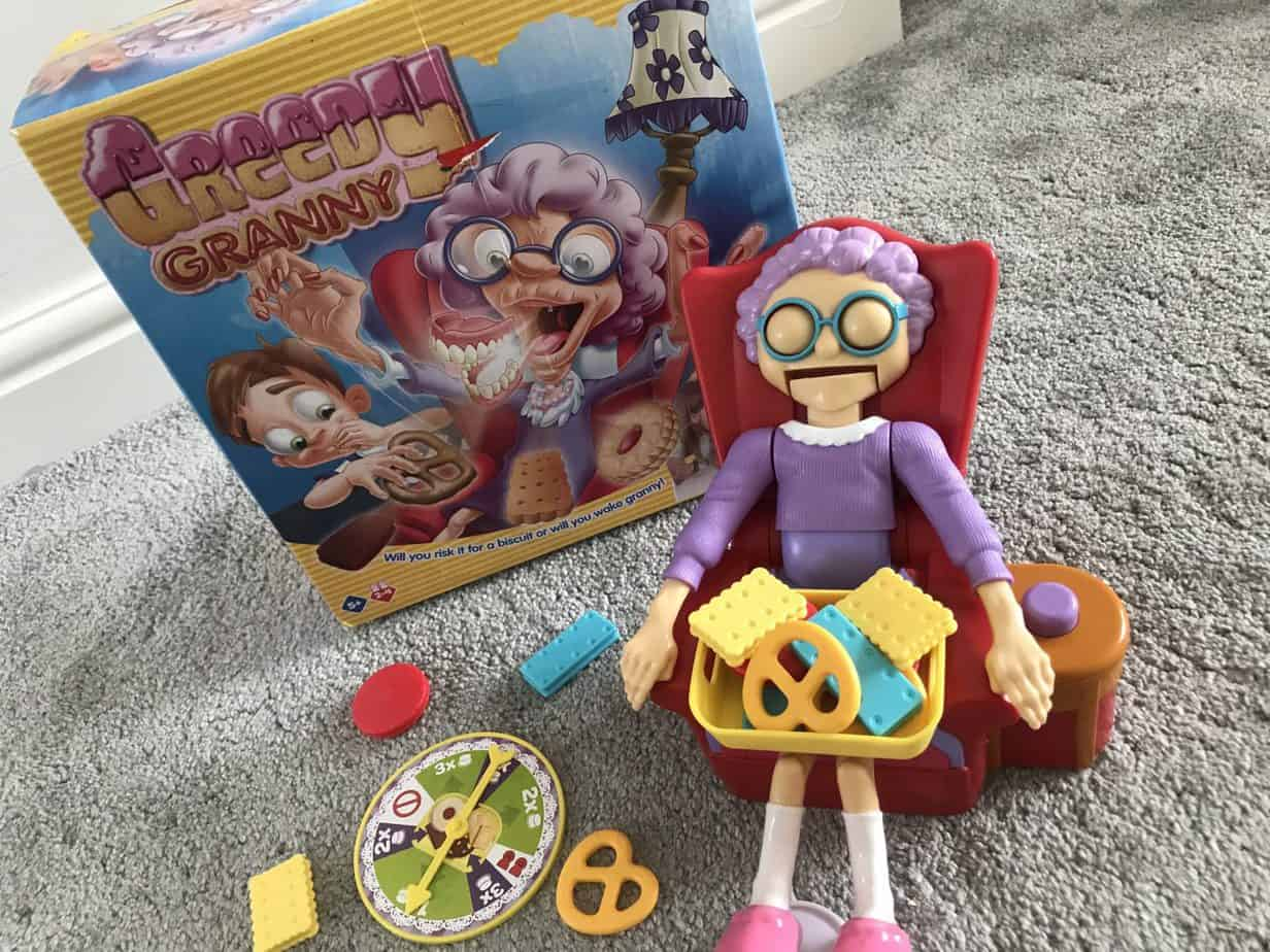 Greedy Granny box and game