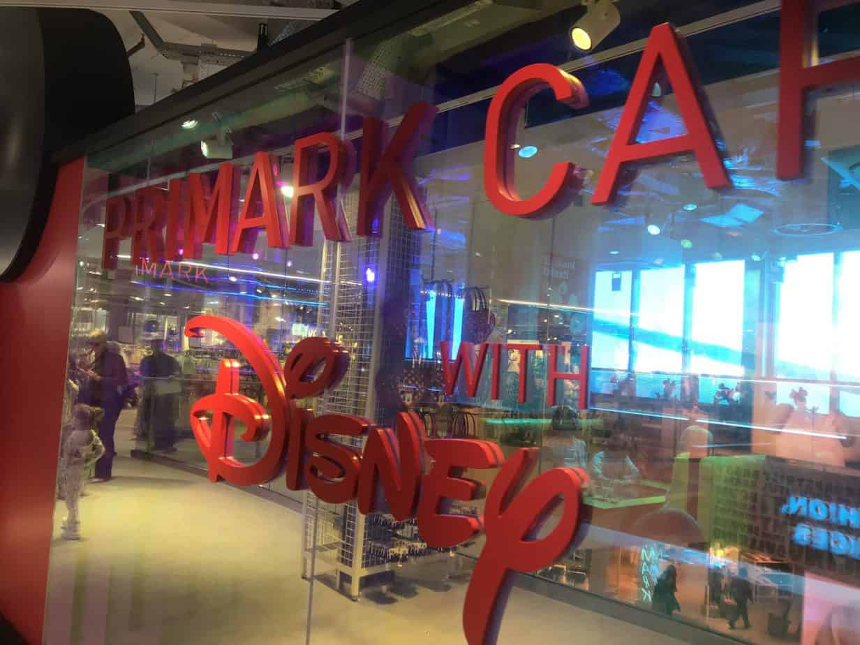 Welcome to Primark Cafe Disney!