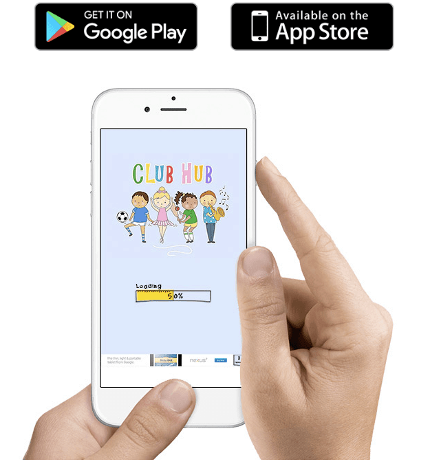 Club Hub UK is available in app and website form