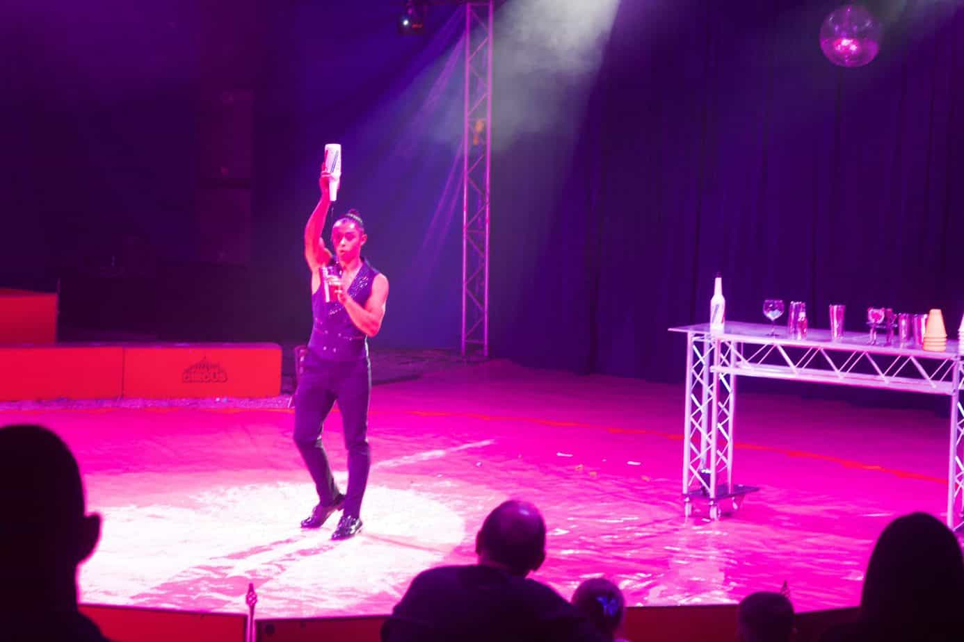 Juggling Act at The Paulos Circus