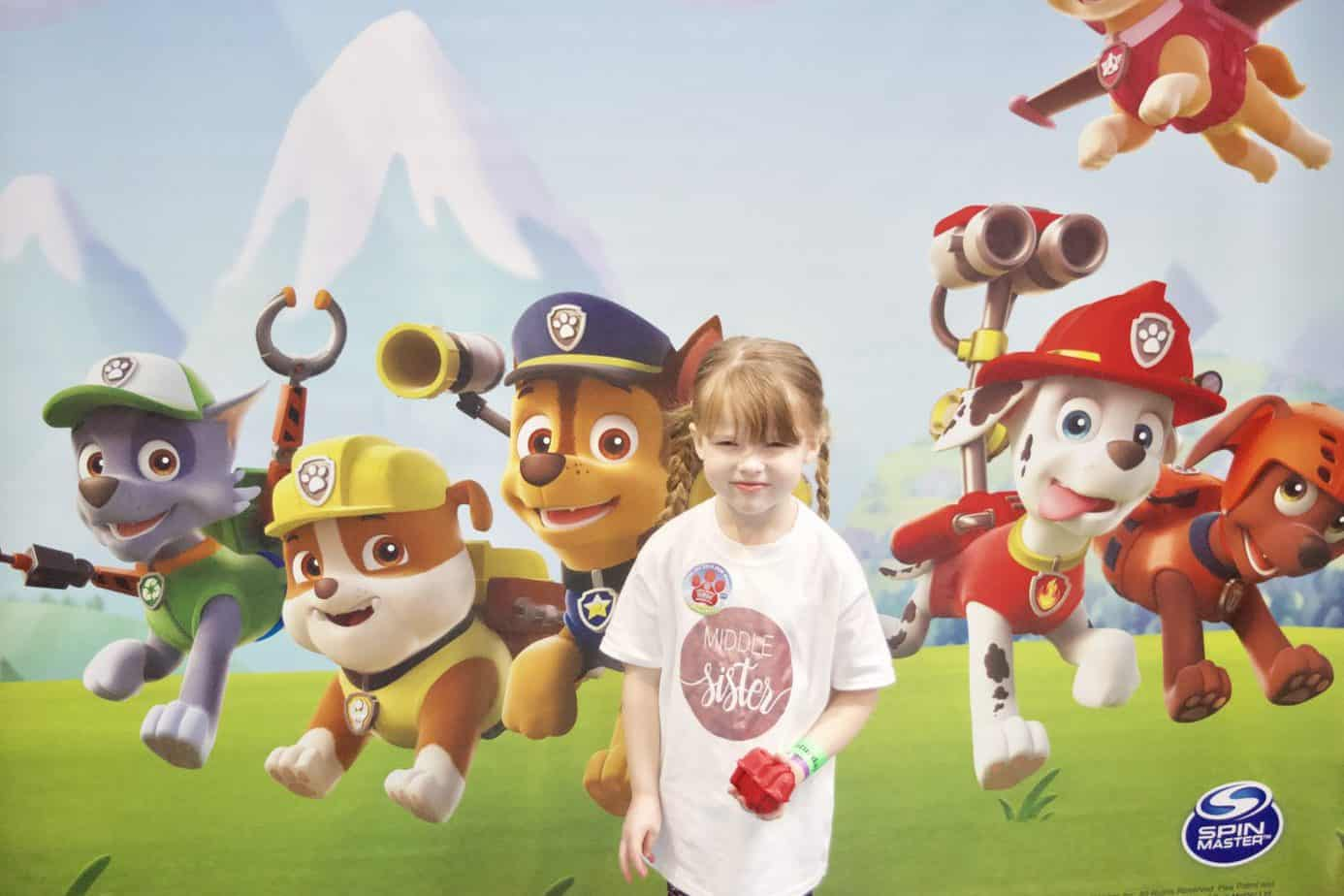 W ready to meet paw patrol for the Paw Awards 2019 at Kidtropolis