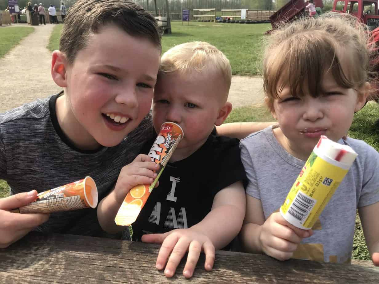 Ice creams at Hatton Adventure World