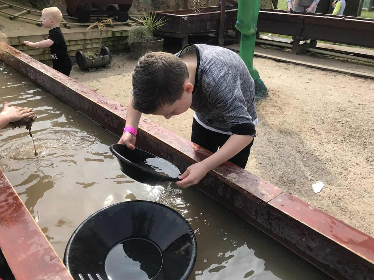 Digging for gold at Hatton Adventure World