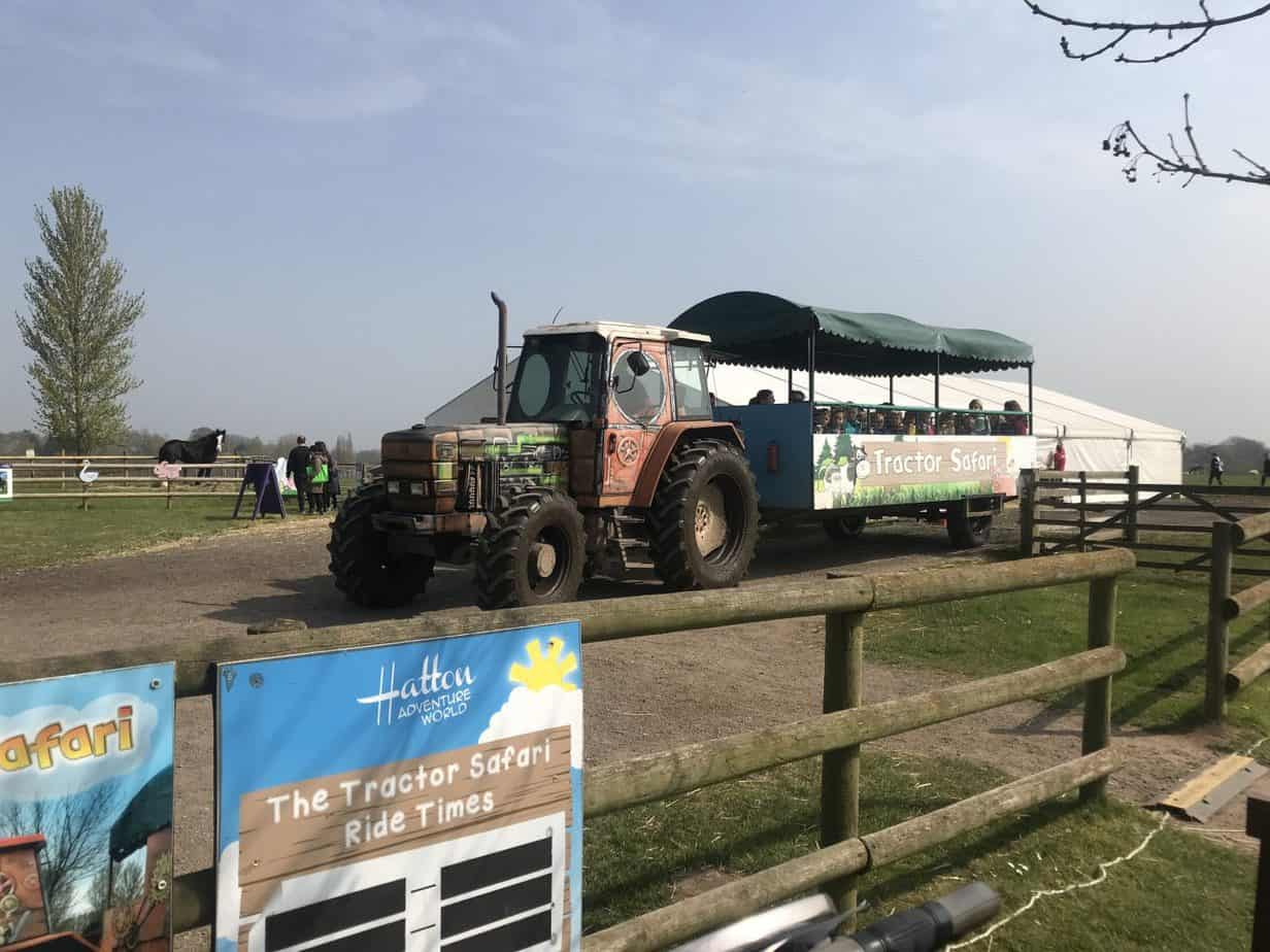 Ready for the Tractor Ride across Hatton Farm