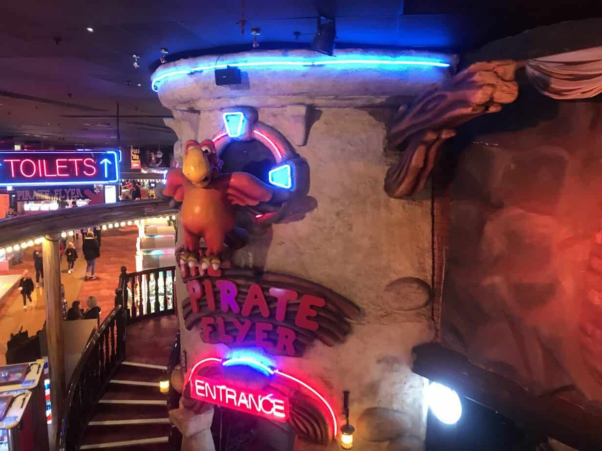 Pirate Flyer at Coral Island Blackpool