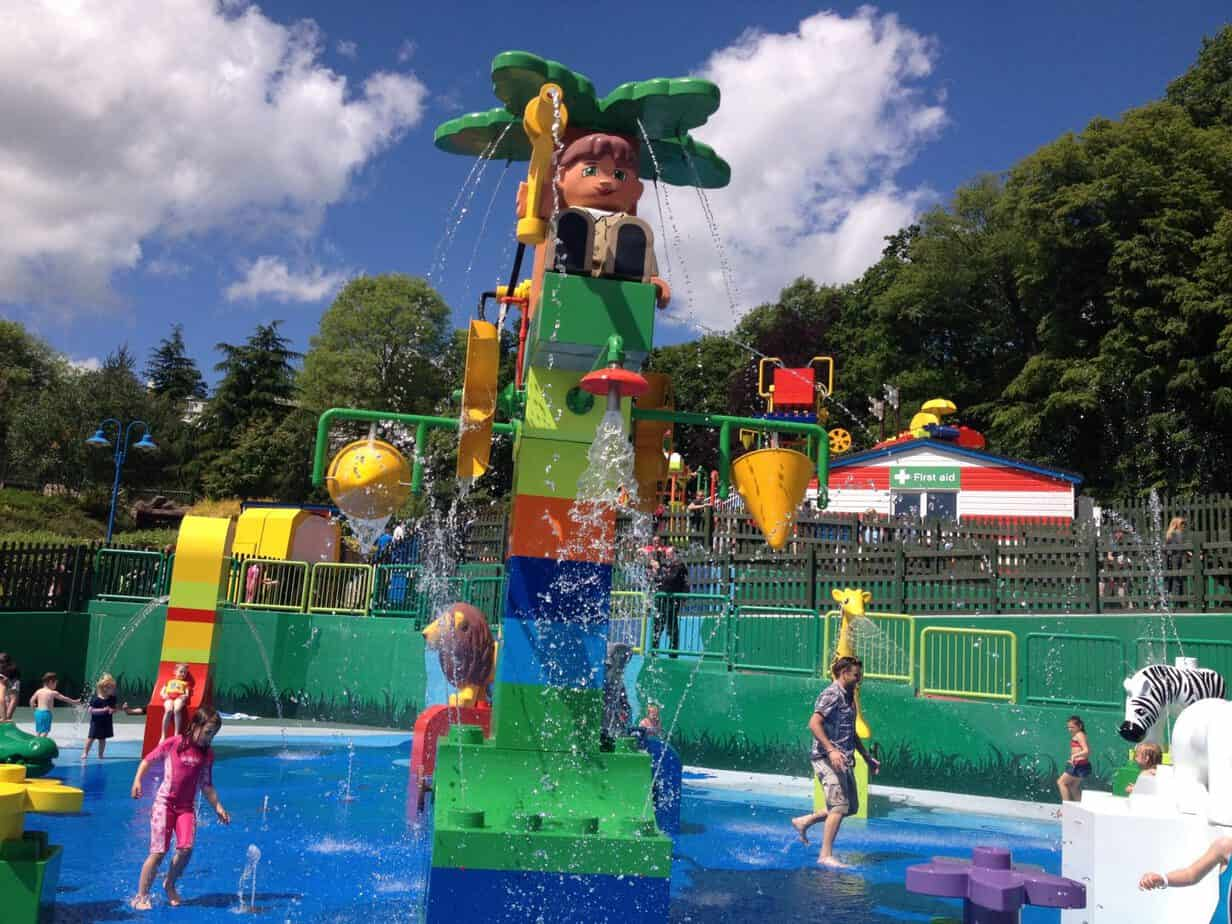 Splash Park at Legoland