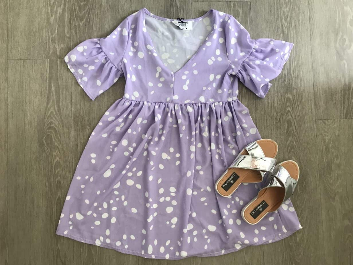 Another Reason purple smock dress made the my top favourite summer dresses list