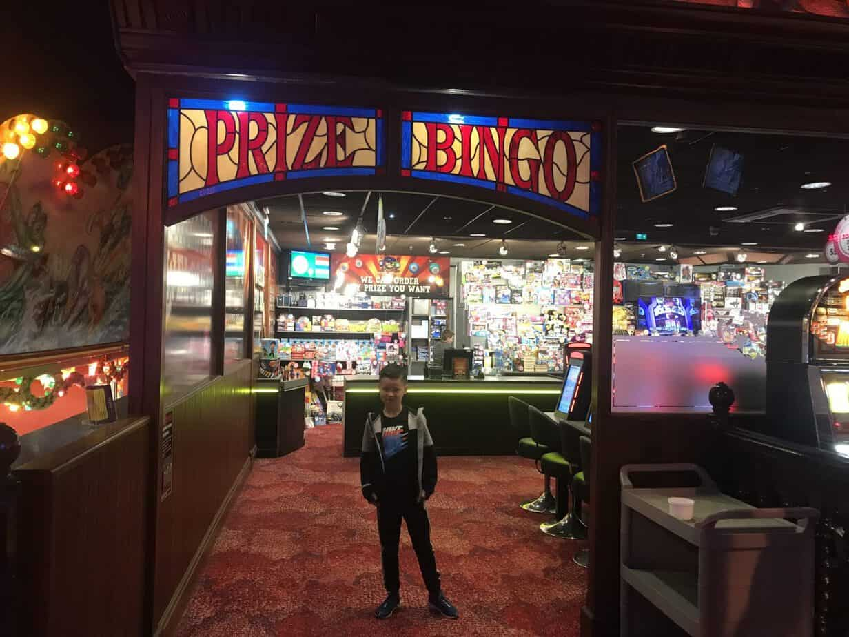 Prize Bingo at Coral Island Blackpool