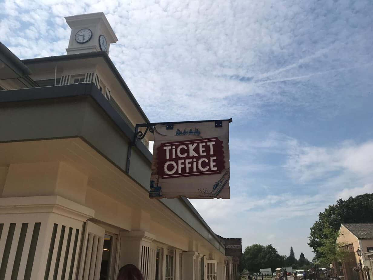 Ticket office at Wicksteed park