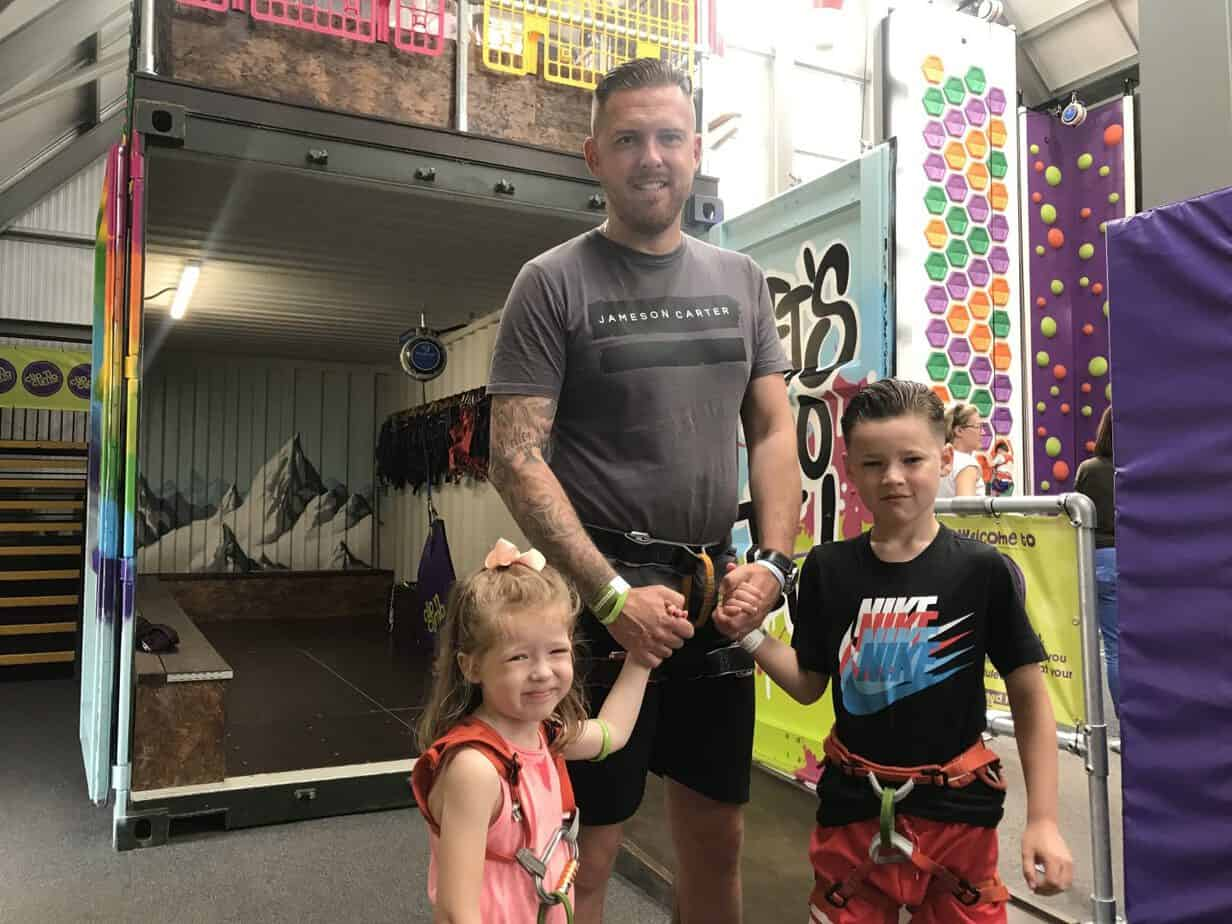 Clip and Climb at Wicksteed park