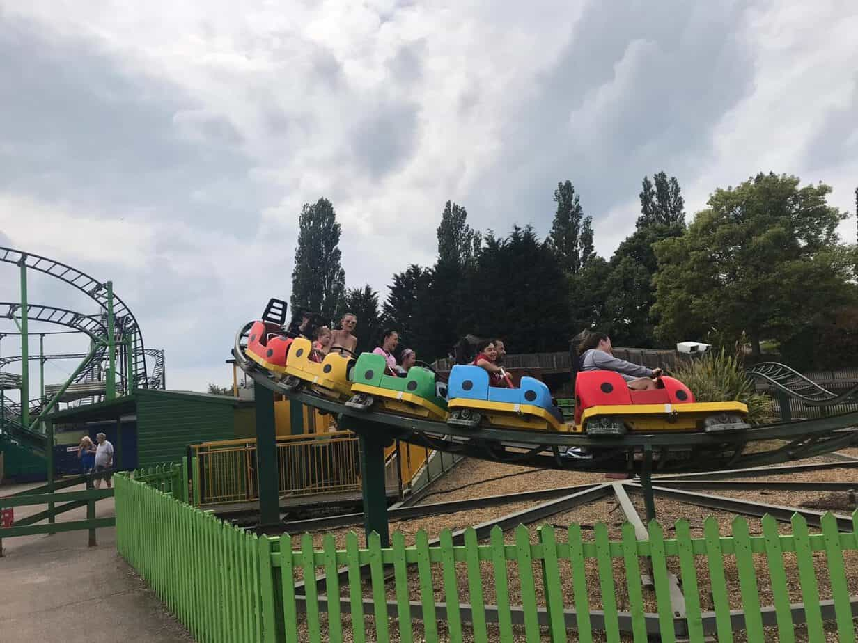 Ladybird coaster at wicksteed park