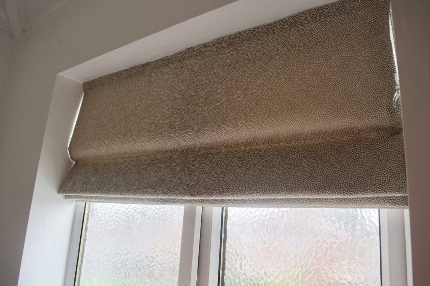 Make my blinds roller blind for the bathroom