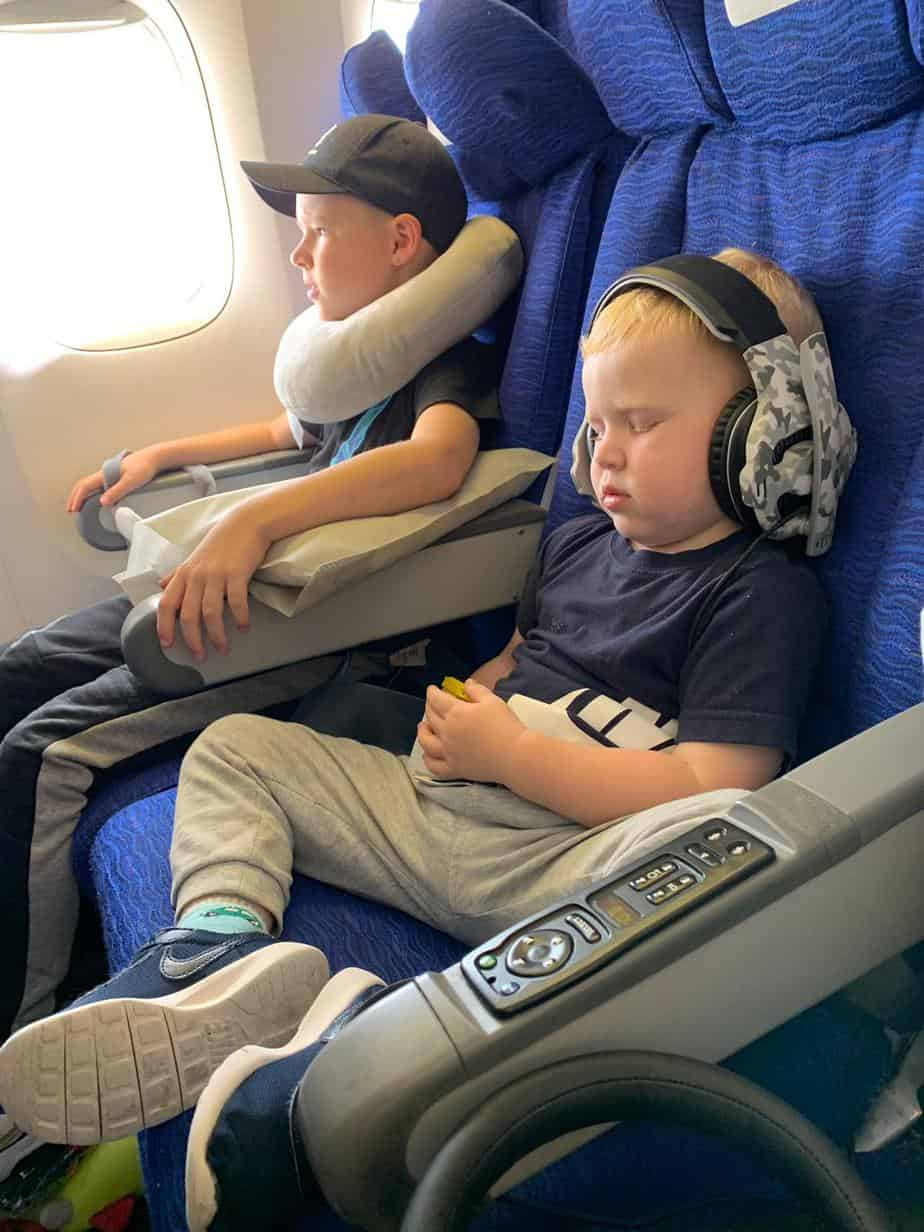 british airways flight with kids to orlando